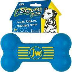 Isqueak dog toy Bone
