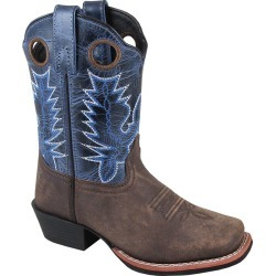 Smoky Mountain Mesa Boot - Kids - Brown/Navy Crackle found on Bargain Bro India from equestrian collections for $64.80