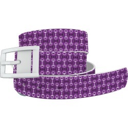 C4 Belt Purple Bits Belt with White Buckle Combo found on Bargain Bro Philippines from equestrian collections for $34.99