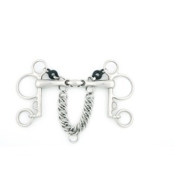 Metalab Magic System Double Jointed 17 MM Pelham found on Bargain Bro India from equestrian collections for $85.45