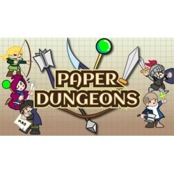Paper Dungeons found on GamingScroll.com from Fanatical for $9.58