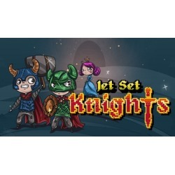 Jet Set Knights found on GamingScroll.com from Fanatical for $10.29