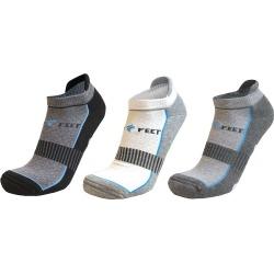 Fleet Feet No Show Socks - 3-Pack