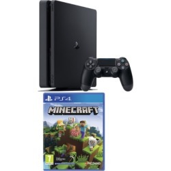 PlayStation 4 500GB + Minecraft Bedrock Edition for PlayStation 4