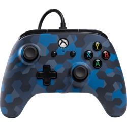 PowerA Wired Controller for Xbox One - Stealth Blue Camo for Xbox One