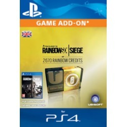 Tom Clancy's Rainbow Six: Siege 2670 Credits Pack for PlayStation 4