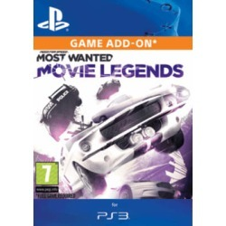 Need for Speed: Most Wanted - Movie Legends Pack for PlayStation 3