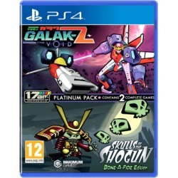 Galak-Z: The Void & Skulls of the Shogun: Bonafide Edition - Platinum Pack for PlayStation 4