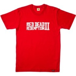 Red Dead Redemption 2 Logo T-Shirt - XL for Clothing and Merchandise
