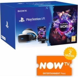 Playstation VR Starter Pack with NOW TV for Virtual Reality
