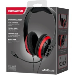 New GAMEware Stereo Nintendo Switch Headset for Switch