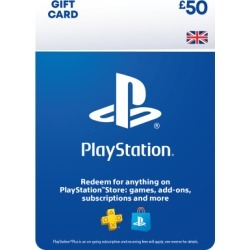 £50 PlayStation Network Wallet Top Up for PlayStation 4