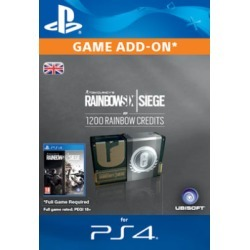 Tom Clancy's Rainbow Six: Siege 1200 Credits Pack for PlayStation 4