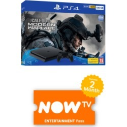 500GB Playstation 4 Call of Duty: Modern Warfare Bundle with NOW TV for PlayStation 4