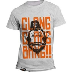 OFFICIAL CALL OF DUTY MONKEY BOMB CLANG CLANG BANG! T-SHIRT - Grey / Large for Clothing and Merchandise found on Bargain Bro UK from game UK