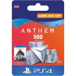 Anthem 500 Shards Pack for PlayStation 4