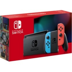 Nintendo Switch - Neon (Improved Battery) for Switch - Preorder found on Bargain Bro UK from game UK