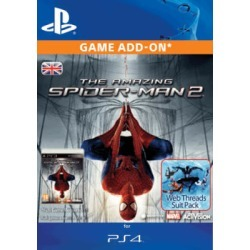 The Amazing Spiderman 2 - Web Threads Suit Pack for PlayStation 4