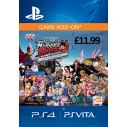 One Piece Burning Blood - WANTED PACK for PlayStation 4