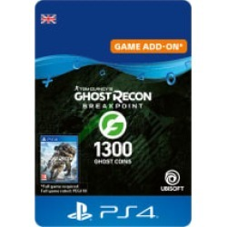 Ghost Recon Breakpoint - 1200 (+100) Ghost Coins for PlayStation 4