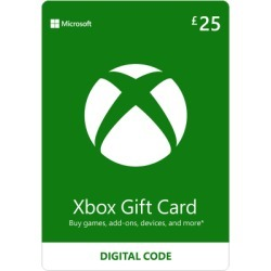 Xbox Live £25 Credit for Xbox 360 found on Bargain Bro UK from game UK