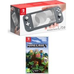Nintendo Switch Lite Grey + Minecraft for Switch