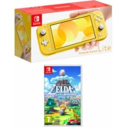 Nintendo Switch Lite - Yellow + The Legend of Zelda...