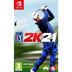 PGA TOUR 2K21 for Switch - Preorder - also available on Xbox One
