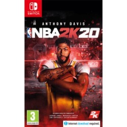 NBA 2K20 for Switch - also available on Xbox One