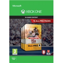 Madden NFL 17: 15 All-Pro Pack Bundle for Xbox One