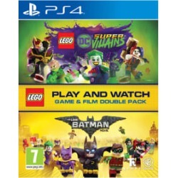 LEGO® DC Super-Villains Game & Film Double Pack for PlayStation 4