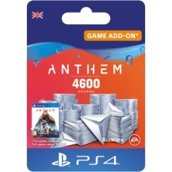 Anthem 4600 Shards Pack for PlayStation 4