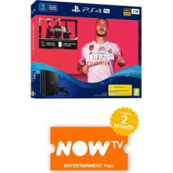 1TB Playstation 4 Pro with FIFA 20 and NOW TV for PlayStation 4 found on Bargain Bro UK from game UK