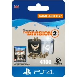 Tom Clancys The Division 2 - 4100 Premium Credits Pack for PlayStation 4