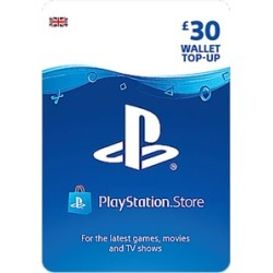 £30 PlayStation Network Wallet Top Up for PlayStation 3