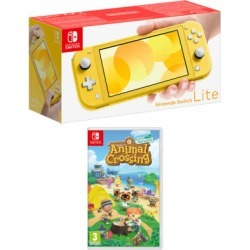Nintendo Switch Lite - Yellow + Animal Crossing: New Horizons for Switch