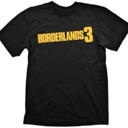 Borderlands 3 Logo T-Shirt (S) for Clothing and Merchandise