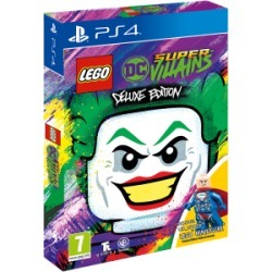 LEGO® DC Super-Villains - Deluxe Mini Fig Edition - Only at GAME for PlayStation 4