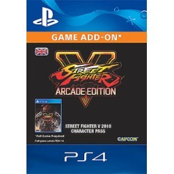 PlayStation 4 Street Fighter V Season 3 Character Pass for PlayStation 4