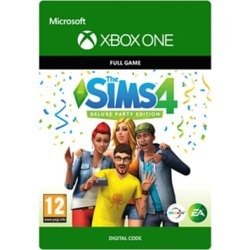 Sims 4 Deluxe Party Edition Digtial Download for Xbox One