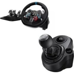 Logitech G29 Racing Wheel with Logitech Shifter for PlayStation 4