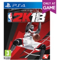 NBA 2K18 Legend Edition - Only At GAME for PlayStation 4