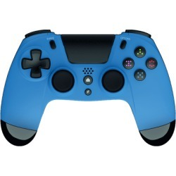 Gioteck VX-4 Wired Controller - Blue (Only at Game) for PlayStation 4