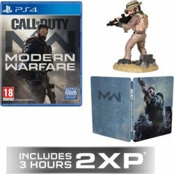 Call of Duty: Modern Warfare + GAME Exclusive Steelbook + Captain Price Figurine + GAME Exclusive 2XP for PlayStation 4