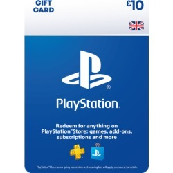 £10 PlayStation Network Wallet Top Up for PlayStation 3