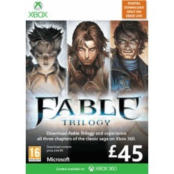 Fable Trilogy for Xbox 360 found on Bargain Bro UK from game UK