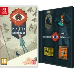 Ministry of Broadcast - Badge Collector's Edition for Switch