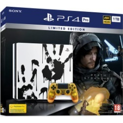 Limited Edition Death Stranding PS4 Pro Bundle - GAME Exclusive for PlayStation 4