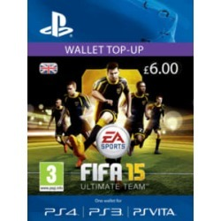 FIFA 15 Ultimate Team Wallet £6 Top Up for PlayStation 3