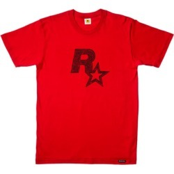 Red Dead Redemption 2 Rockstar Games Logo Red T-Shirt - XXL for Clothing and Merchandise